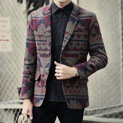 Seoul Boy - Patterned Blazer