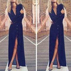 Katemi - Long-Sleeve Evening Dress