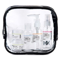 HINCLOUD - Transparent Toiletry Bag