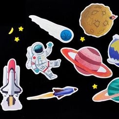 Homey House - Pack of 30: Space Postcard