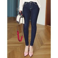 LOLOten - Washed Skinny Jeans