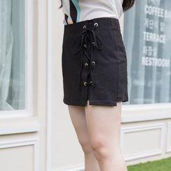 CAIDOBLE - 系带裙裤