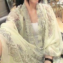 Rita Zita - 印花薄圍巾