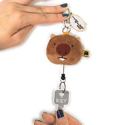 Shibu - Animal Keychain