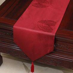 Sun East - Tasseled Table Mat