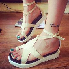 Mancienne - Star Wedge Sandals