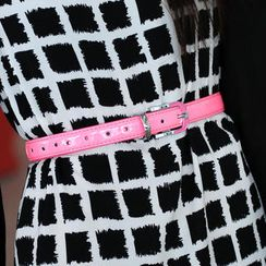 SO Central - Patent Leather Belt