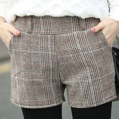 Hyoty - 格纹短裤