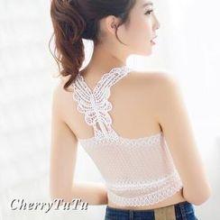 CherryTuTu - Lace Camisole Top