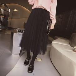 Cocofield - Midi Tulle Skirt