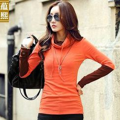 Ranee - Long-Sleeve Turtleneck Top