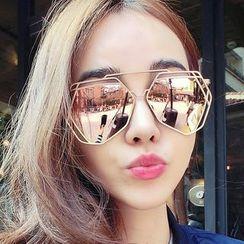 Biu Style - 大框太阳眼镜