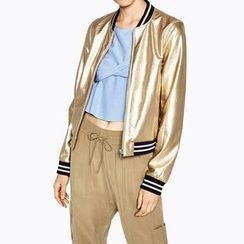 Obel - Metallic Bomber Jacket