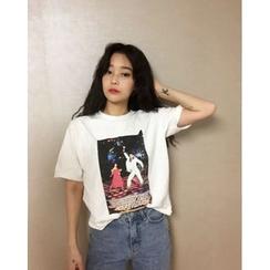 HotBlock - Print T-Shirt