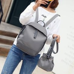 Hase Babe - Set: Oxford Backpack + Crossbody Bag