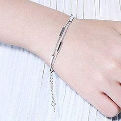 Wind Valley - Layered Segment Bracelet / Anklet
