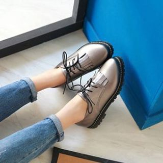 Pangmama - Fringed Oxford Shoes