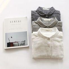 布丁坊 - 纯色 / 格子衬衫