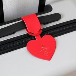 Full House - Heart Shape Luggage Tag