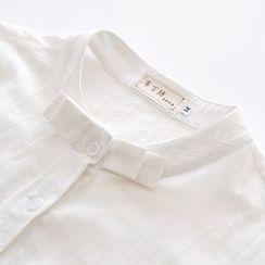 布丁坊 - 蝴蝶結前襯衫