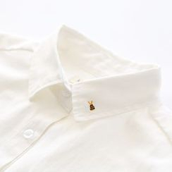 Bonbon - Bee Embroidered Long-Sleeve Shirt
