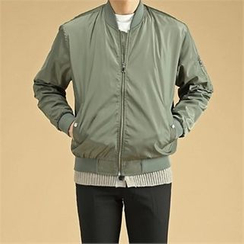 THE COVER - Contrast-Lining Flight Jacket