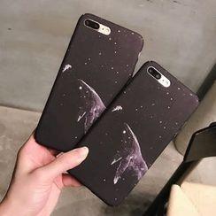 Homap - iPhone 7 / 7 Plus / 6s / 6s Plus 銀河印花手機保護套
