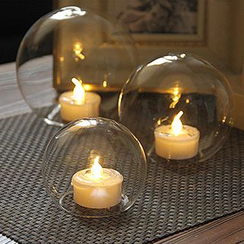 Thula Design - Round Glass Electric Candle