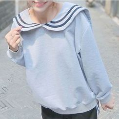 RASA - Sailor Collar Sweatshirt