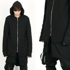 Remember Click - Long Hoodie Zip-Up Jacket