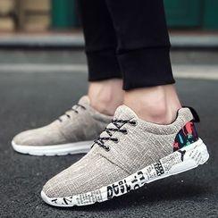 Araeo - Canvas Panel Sneakers