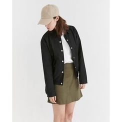 Someday, if - Collared Snap-Button Jacket