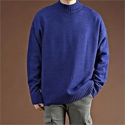 THE COVER - Mock-Neck Sweater