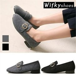 Wifky - Buckled-Detail Loafers
