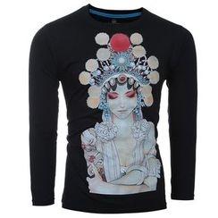 Hansel - 印花长袖T恤