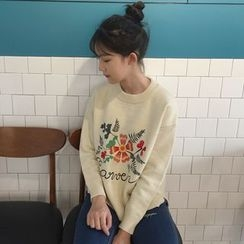 Dute - Embroidered Sweater