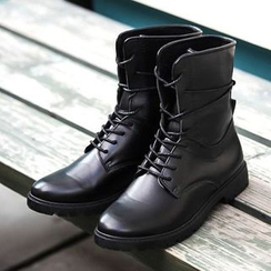 Preppy Boys - 系带短靴
