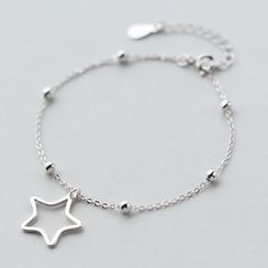 A'ROCH - 925 Sterling Silver Star Bracelet