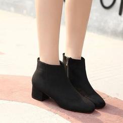 Monde - 粗跟及踝靴