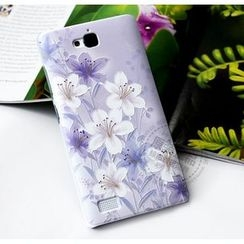 Kindtoy - Lily Print Huawei Honor 3C Case