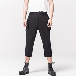 Ashen - Slim-Fit Cropped Pants