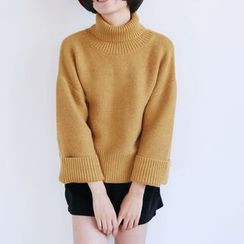 Piko - High Neck Thick Sweater