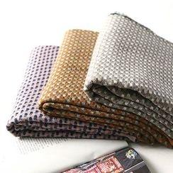 兰芝 - 格子围巾