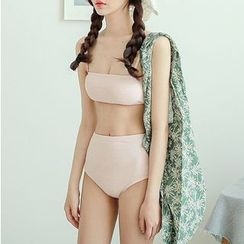 Roseate - 純色比基尼泳衣
