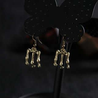 BLISS Fashion - Skull Hand Drop Earrings