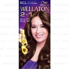 Wella - Wellation 2 + 1 Cream Hair Color (#6CL)