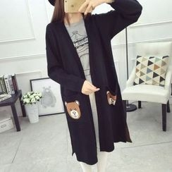 Hibisco - Bear Long Cardigan