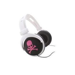 mix-style - mix-style (Skull-BK*PK) Stereo Headphones