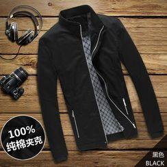YamYork - Stand-Collar Zip Jacket