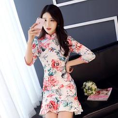 Janelle Qipao - 小鱼尾短款旗袍